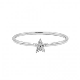 Karma ring star silver.