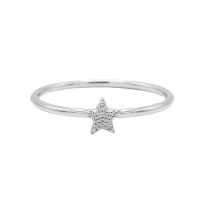 Karma ring star silver.