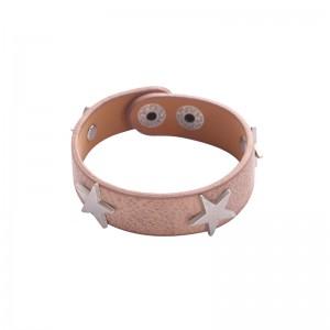 -nieuw-Ster armband roze.