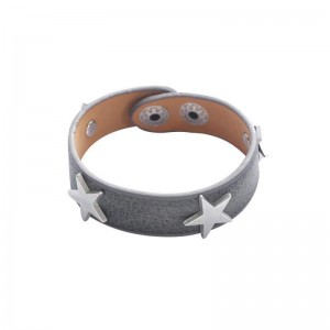 -nieuw-ster armband grijs.