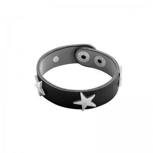 -nieuw-ster armband zwart.