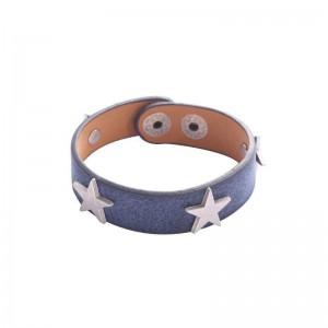 -nieuw-Ster armband blauw.