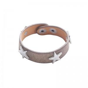 -nieuw- ster armband bruin.