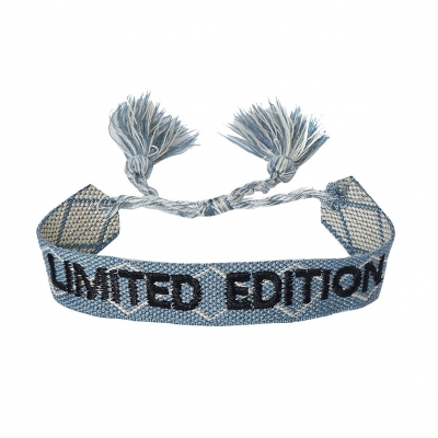 Armbandje limited edition blauw.