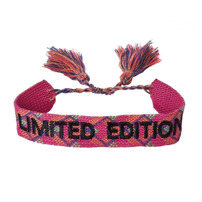 Armbandje limited edition fuchsia.