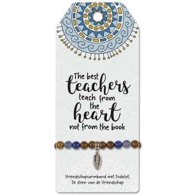 Armbandje The Best Teachers.