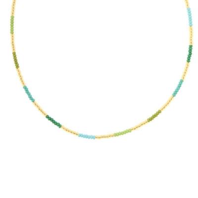 Biba ketting 60507 groen/blauw.