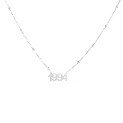Ketting 1994 zilver.