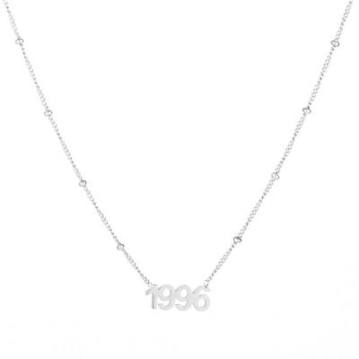 Ketting 1996 zilver.