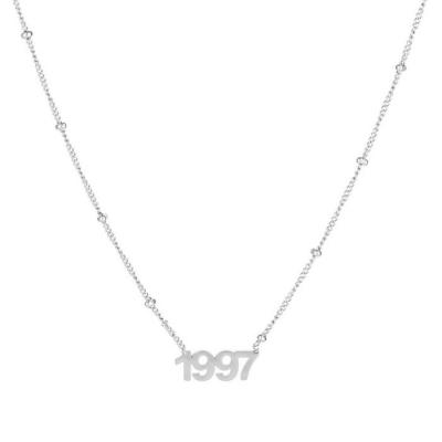 Ketting 1997 zilver.