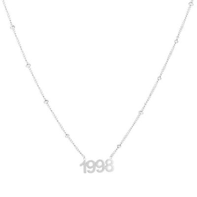 Ketting 1998 zilver.