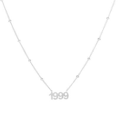 Ketting 1999 zilver.