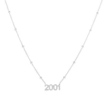 Ketting 2001 zilver.