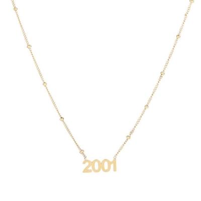Ketting 2001 goud.