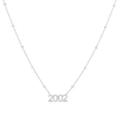 Ketting 2002 zilver.