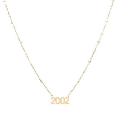 Ketting 2002 goud.
