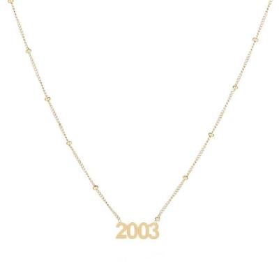 Ketting 2003 goud.