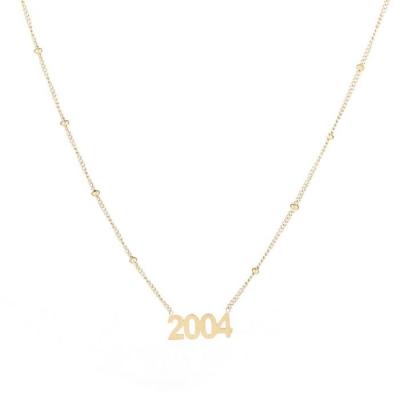 Ketting 2004 goud.