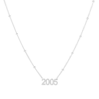 Ketting 2005 zilver.