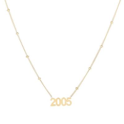 Ketting 2005 goud.