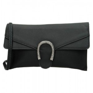 Trendy clutch zwart.