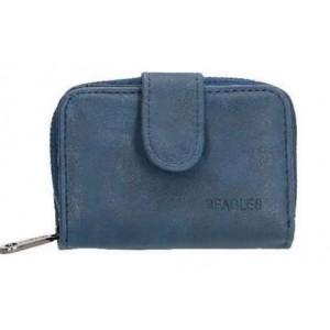 Klein Beagles portemonneetje blauw.