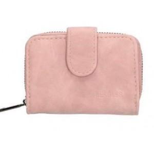 Klein Beagles portemonneetje roze.