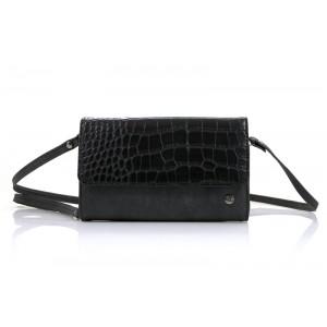 Zwarte portemonnee/ tasje.