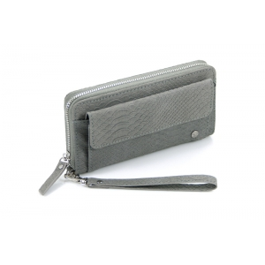 Portemonnee met vakje grijs.