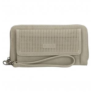 Beagles portemonnee met vakje grijs.