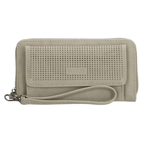 b1c2c936d86 Beagles portemonnee met vakje grijs.