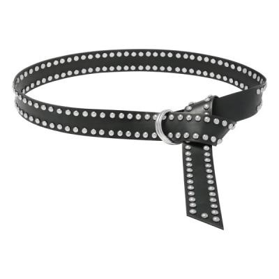 Belt twisted zilver.