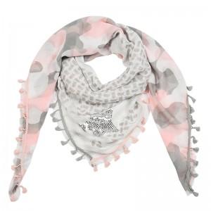 Sjaal Army roze.