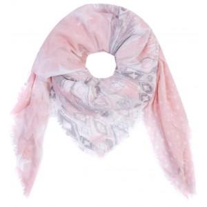 Sjaal roze.