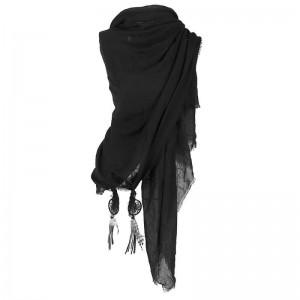 Sjaal zwart met dromenvanger.