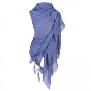 Sjaal blauw met dromenvanger.