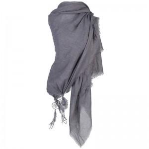 Sjaal grijs met dromenvanger.