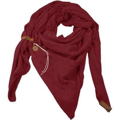 Sjaal Fien Bordeaux.