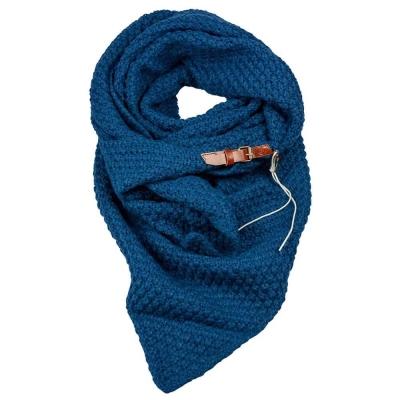 Sjaal Lot Donkerblauw.