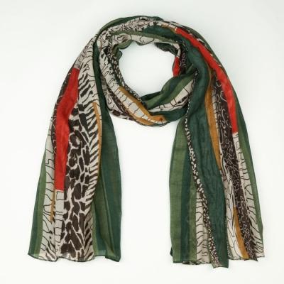 Sjaal 743 green.