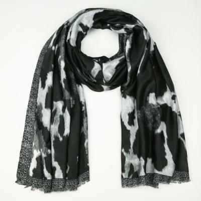 Sjaal 722 black.