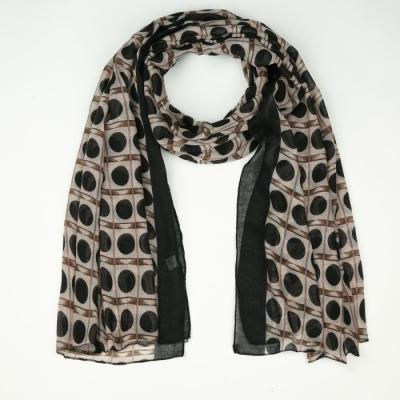 Sjaal 742 black.