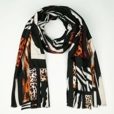 Sjaal 731 black.