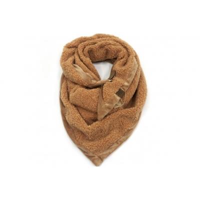 Camel triangle Teddy sjaal.