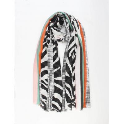 Sjaal Marisela zwart.