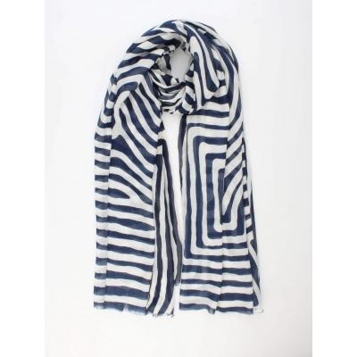 Sjaal Varis blauw.