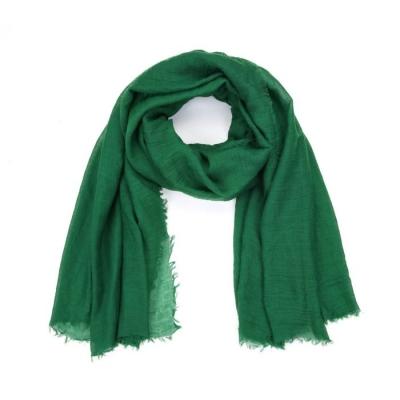 Effen sjaal groen.