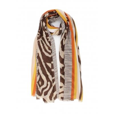 Sjaal Marisela bruin.