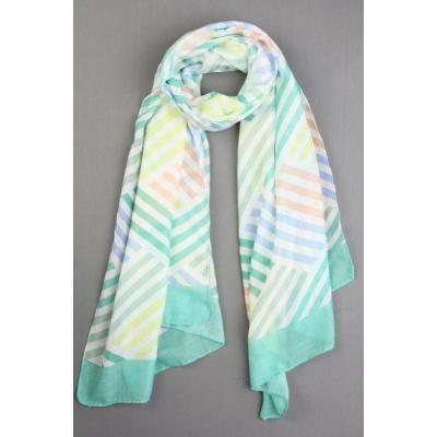 Sjaal Suzy mintgroen.