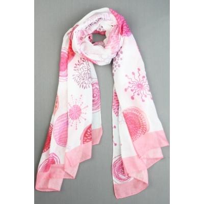 Sjaal Crissy pink.